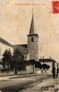 CPA-Combeaufontaine-Grande-Rue-L-039-Eglise-636517