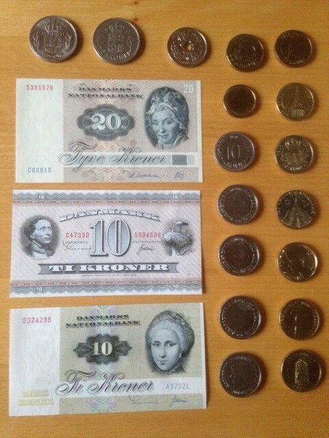 Danmark, mønter, Diverse se annonceteksten