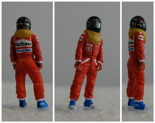 James HUNT Mc Laren 1976 figurine pilote diorama 1 43 F1 driver figure