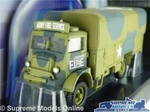 Bedford Qld modèle camion camion armée pompiers échelle 1:50 Corgi Cc60304 K8 7437126716738