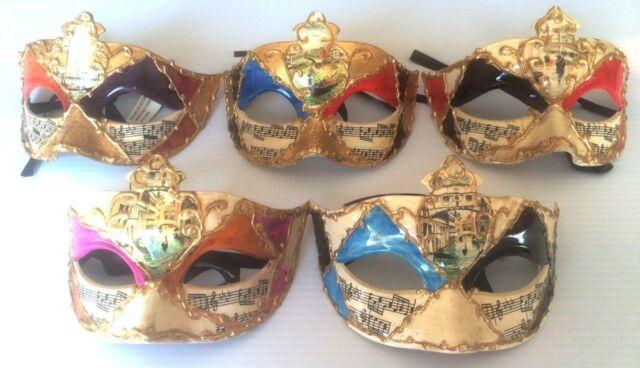 Faux Leather Half Mask Designs Mardi Gras Halloween Men Women Face Cat/'s Eyes