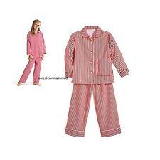American Girl CL MOLLY PAJAMAS SIZE S 7/8 for Girls Retired Sleepwear Stripe NEW