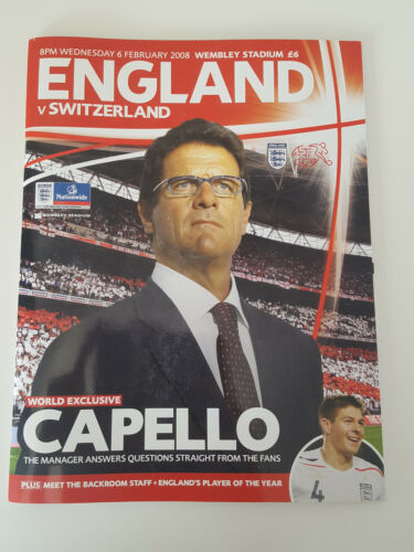 England Switzerland Programme