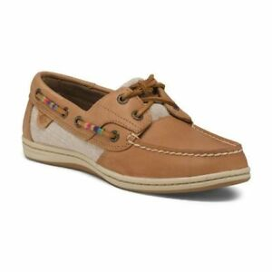 Skillful Knitting And Elegant Design Clothing, Shoes & Accessories Sperry Topsiders Tan Koifish Thread Wrap Boat Deck Shoes 9.5 New In Box To Be Renowned Both At Home And Abroad For Exquisite Workmanship