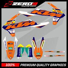 KTM EXC EXC-F 125 250 350 450 MOTOCROSS MX GRAPHICS SPLIT KIT DHL