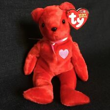741a0806905 item 6 Ty Beanie Baby 2002 Kiss-e Red Bear Pink Heart Valentines Day  Stuffed Animal Toy -Ty Beanie Baby 2002 Kiss-e Red Bear Pink Heart  Valentines Day ...