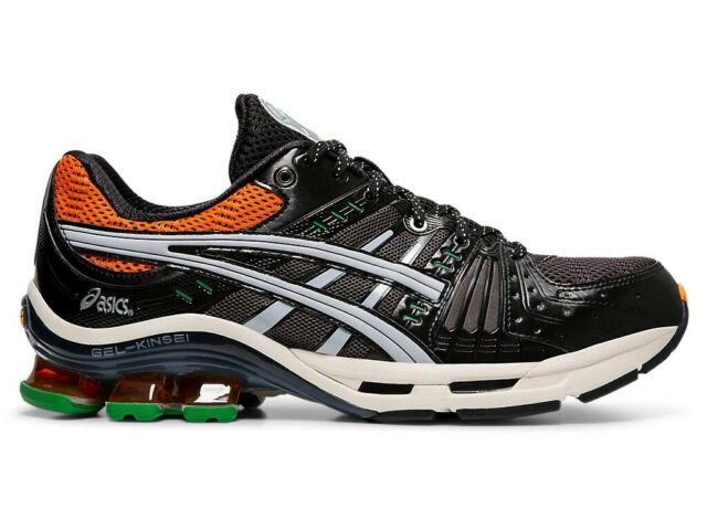 Grey 1021A117-101 ASICS MENS Shoes Gel Kinsei OGGlacier Black /& Red