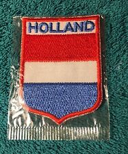 Holland Souvenir Patch sew on. Backpack, hat, jean, jacket, patches, sport