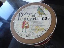2 Williams Sonoma 12 days of Christmas dinner plates New