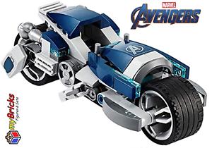 Avengers Speeder-Bike Attacke LEGO® Avengers aus Set 76142 Black Panther Bike