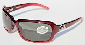 fb8fc1b1e2 Image is loading COSTA-DEL-MAR-Isabela-580-POLARIZED-Sunglasses-Womens-