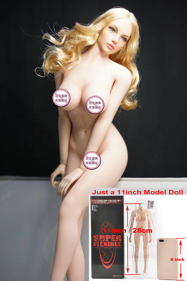 TBLeague 1 6 Phicen Female Seamless Seamless Large Bust Pale Action Figure S07C