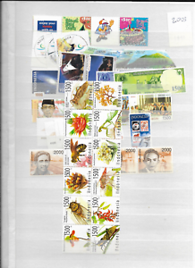 2003-MNH-Indonesia-year-complete-according-to-Michel-system