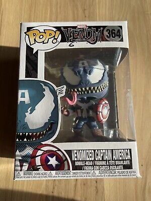 Venom//Captain America Funko POP Vinyl Bob... POP Marvel Marvel Venom Bobble