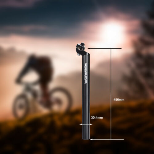 Aluminum Bike Seatpost Bicycle Seat Post Tube 27.2//28.6//30.8//31.6mm 350mm//450mm
