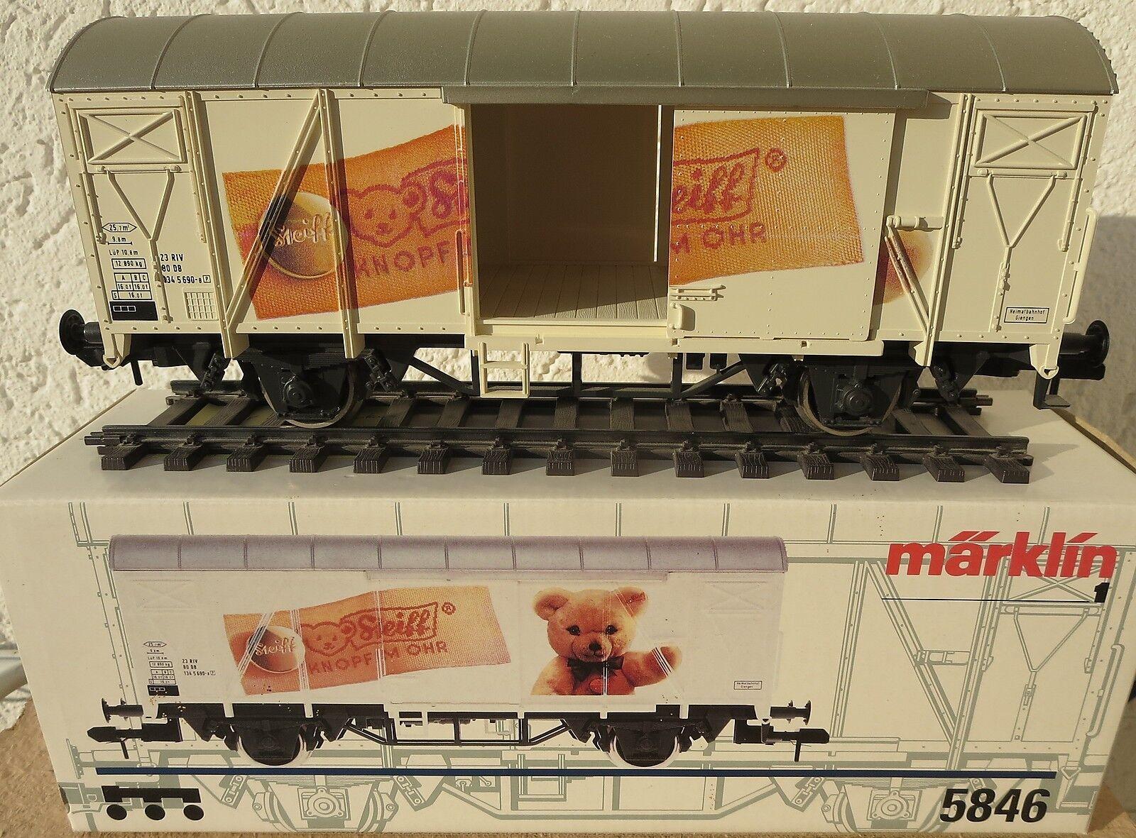 I249a Märklin 5846 Sonderwagen Steiff mit Karton  | Beliebte Beliebte Beliebte Empfehlung  7f63c0