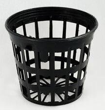 "Vaso rete fustellato 5cm mesh net pot 2"" idroponica hydroponics aeroponics 10pcs"