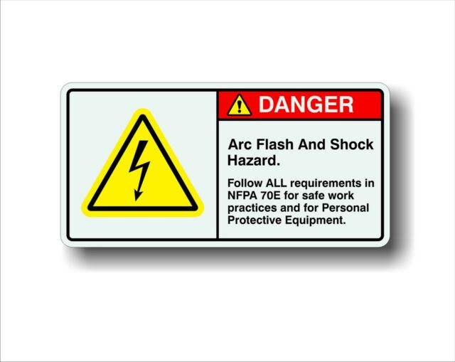 Enter Traffic Label Decal Sticker 8