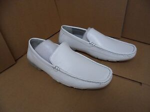 label by s severo white slip on dress shoes