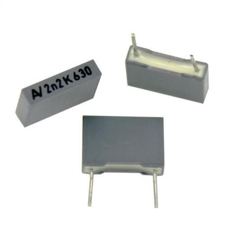 20x MKT-Condensatore Radial 2,2nf 630v DC; rm7 5; r66pd1220aa01k; 2200pf