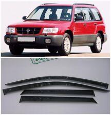 For Subaru Forester 1997-2002 Side Window Visors Sun Rain Guard Vent Deflectors