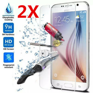 2X-Tempered-Glass-Film-Screen-Protector-for-Samsung-Galaxy-S10-9-8-7-Note5-8-9