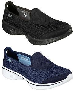 Skechers-Mujer-Go-Walk-4-Kindle-Comodidad-Al-Caminar-Zapatos