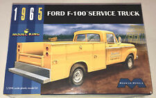 Moebius 1965 Ford F-100 Service Truck 1:25 scale model kit new 1235 in stock