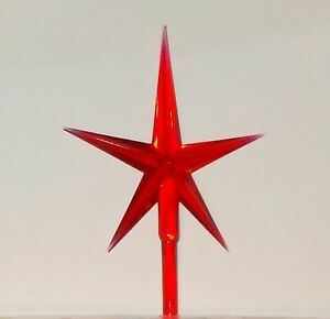 Details About Ceramic Christmas Tree Star Large Star Ceramic Christmas Tree Bulbs