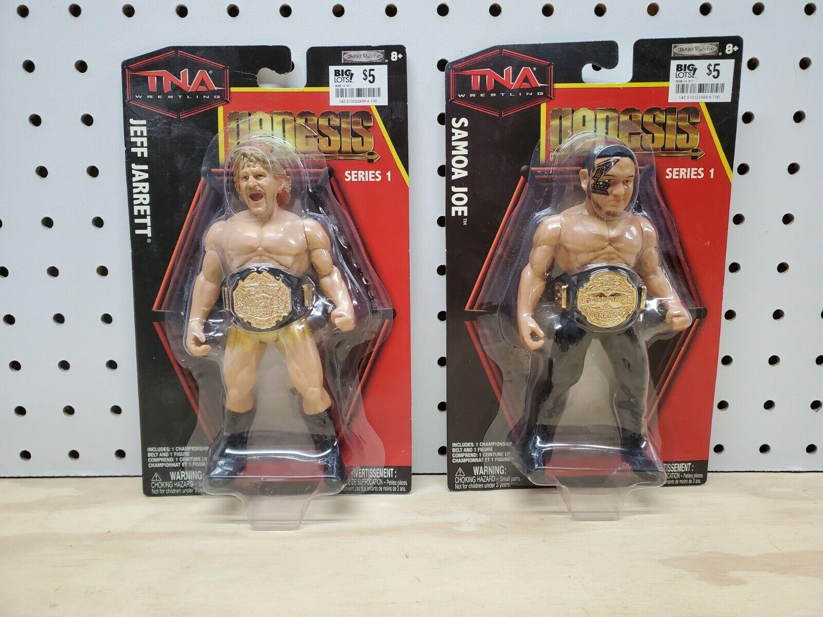 Official TNA Impact Wrestling Genesis Series 1 Samoa Joe Figure