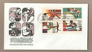 Juegos Olímpicos USA 1984 Artmaster primer día cubierta-sin dirección