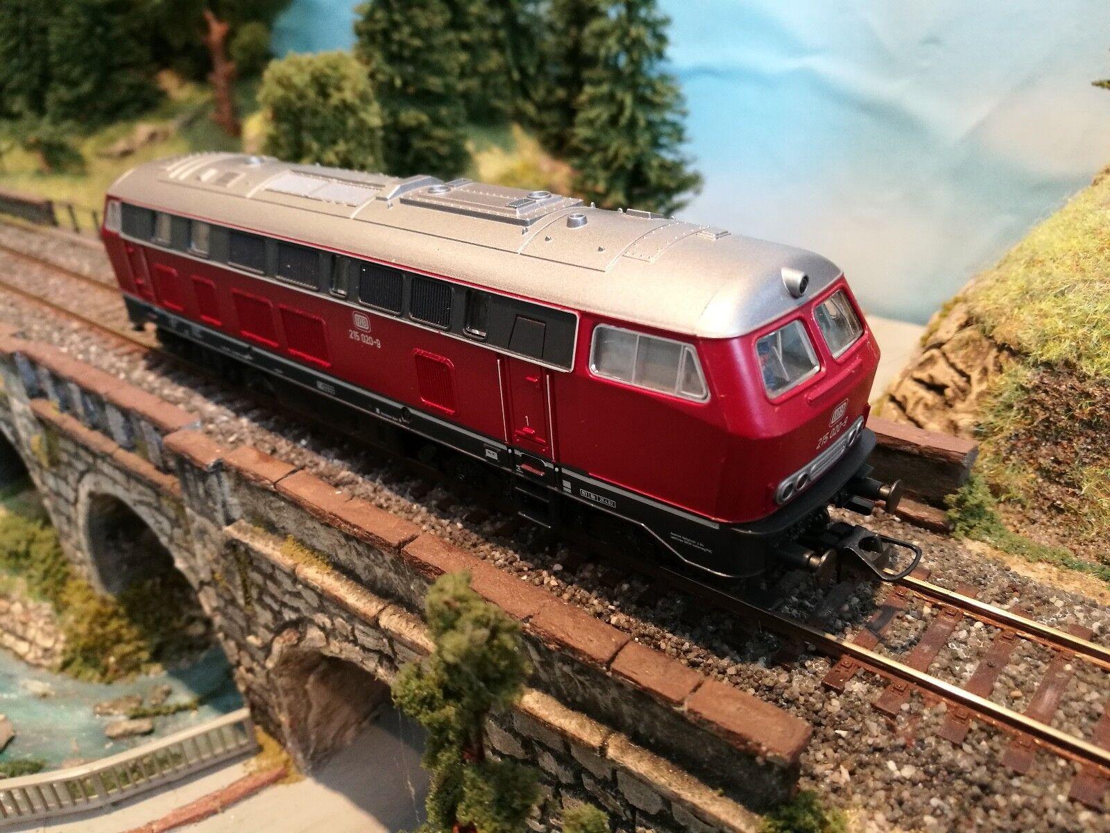 Roco 43417 h0 diesel locomotora br 215 020-9 de la DB