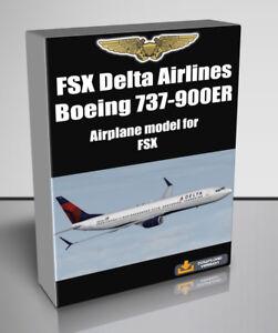 Details about FSX Delta Airlines Boeing 737-900ER addon for FSX - Digital  Download
