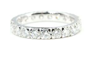 Memory-Ring-750-Diamant-18K-Weissgold-21-Brillanten-1-89ct-VS1-SI1-G-Groesse-54