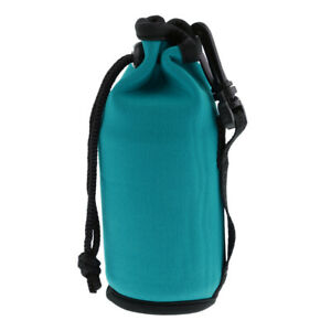 Neoprene Water Bottle Carrier Insulated Cup Cover Bag Holder Pouch with Strap P1