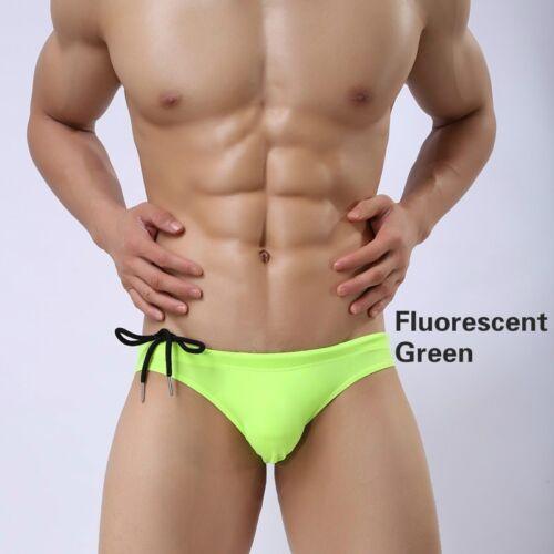 hommes SLIP NATATION TAILLE BASSE de bikini short sous-vêtement maillot bain