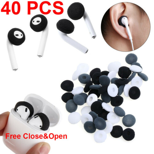 Soft Foam Replacement Sponge Earpad Earphone Tips Cover For Airpods Earpods
