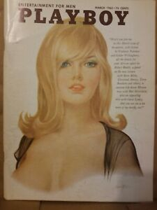 Playboy-March-1965-Good-Condition-Free-Shipping-USA