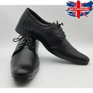 NEW MENS SLIP ON OFFICE WORK GENTS FORMAL SMART SHOES WEDDING PARTY SIZE