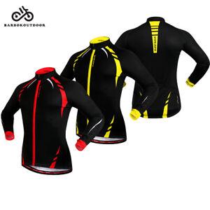 Winter Fleece Thermal Cycling Jacke Winddichter Radmantel Warm Jersey Herren