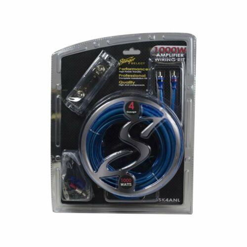 Stinger SSK4ANL25mm² Anschluss Kabelset AUTO Cinchkabel Stromkabel Powerkabel