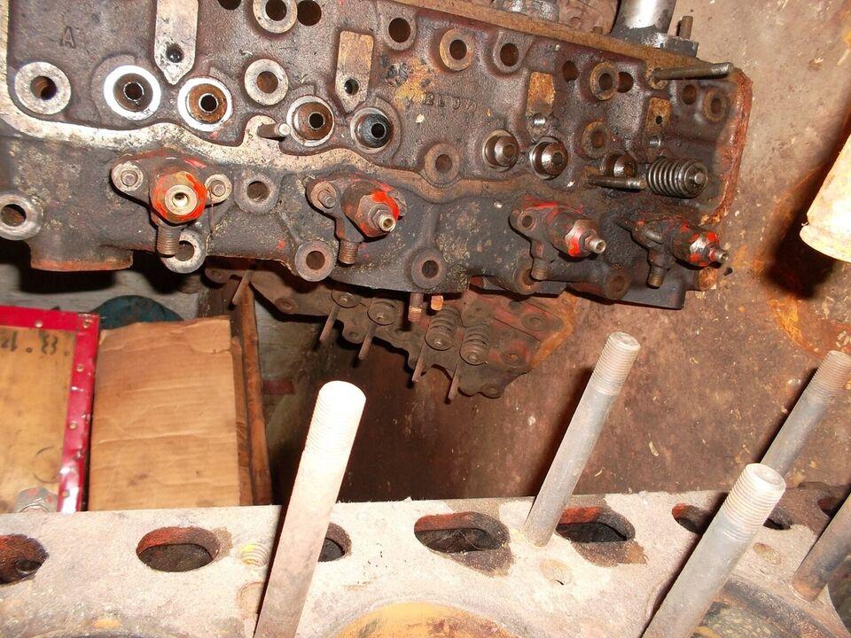 motor/topstykke, david brown/case