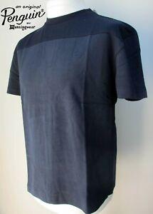 Original-Penguin-New-Mens-Casual-Short-Sleeve-Cotton-T-Shirt-Blue-S-M-L-BNWT