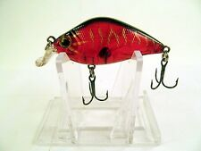 """River2Sea Snub Cnk 50 """"RED TIGER CRAW"""" Rattlin' 2"""" Fishing Lure Discontinued"""
