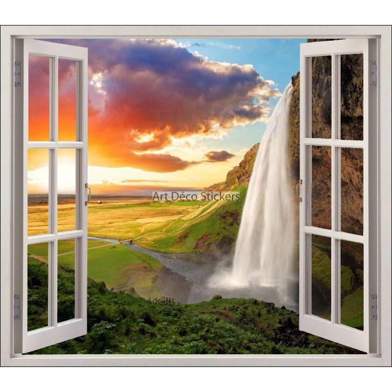 Adesivo Finestra Decocrazione Paesaggio Cade Ref 5435 5435