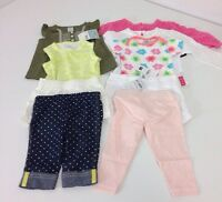 Lot Of 9 Baby Girl Clothes 6m