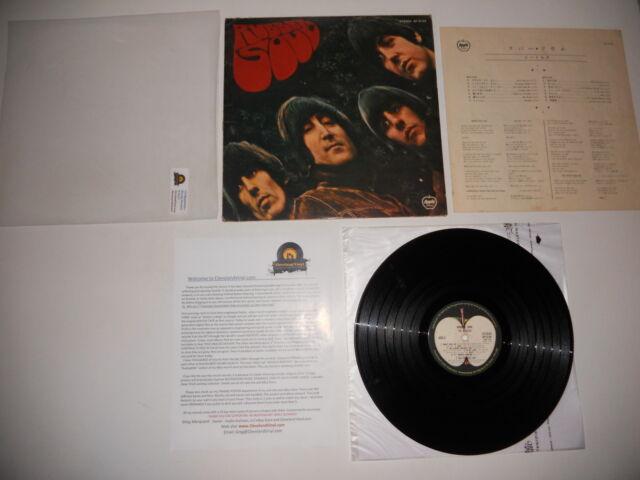 Beatles Rubber Soul 1972 Analog Toshiba EXC Japan ANALOG Ultrasonic CLEAN