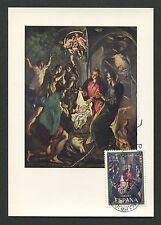 SPAIN MK 1970 NAVIDAD WEIHNACHTEN CHRISTMAS MAXIMUMKARTE MAXIMUM CARD MC c9135