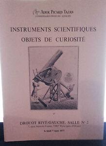 1977 Drouot Rive Gauche Sala N°2 Strumenti Scientifiche Articolo Curiosità