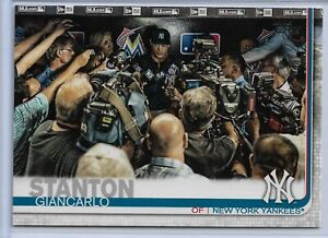 2019-Topps-Series-2-Baseball-Short-Print-Variation-Giancarlo-Stanton-568-Yankee